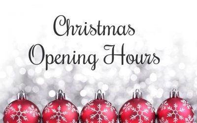 2019 Christmas and New Year opening times