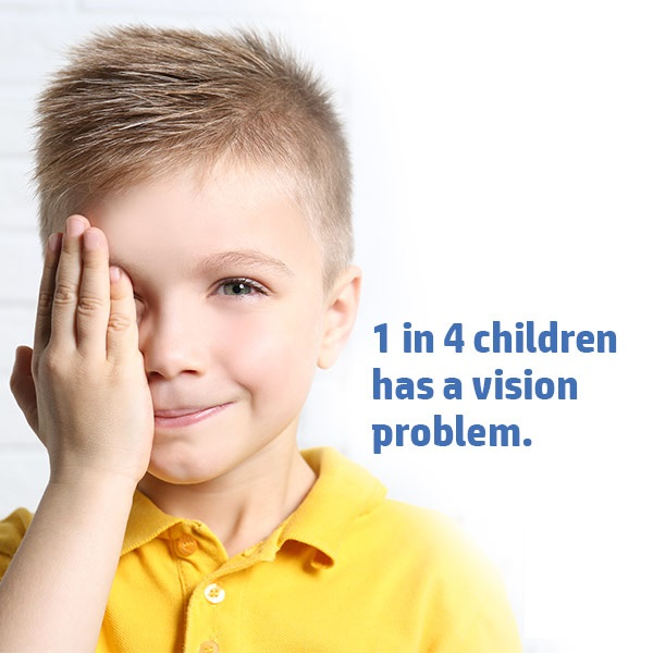 Have your Children had their Eyes checked?