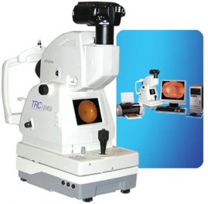 The Topcon NW6 Digital Retinal Scanner